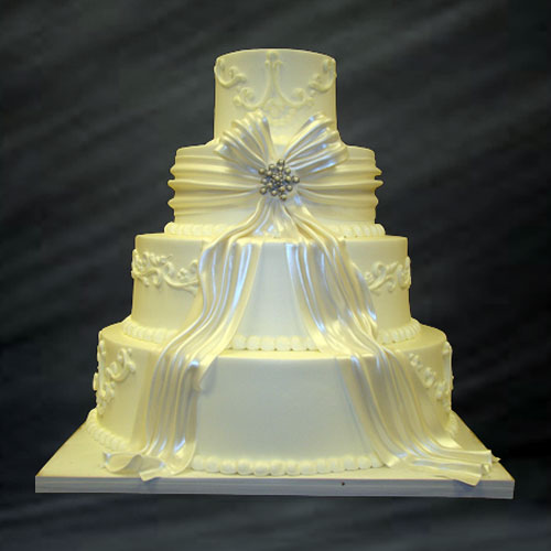 wedding cakes simple elegant th 225 ng t 225 m 2014 thvt 68 75 25467